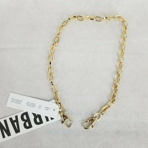 """Urban Outfitters 20"""" Wallet Belt Loop Chain Gold"""